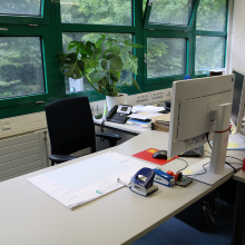 Dieses Bild zeigt  Lehrstuhlzimmer