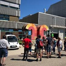 Guided tour for children through the IFS Universität Stuttgart