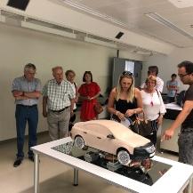 Presentation of the models of the model wind tunnel Universität Stuttgart