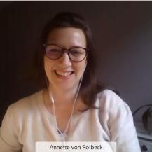Referentin Annette von Rolbeck