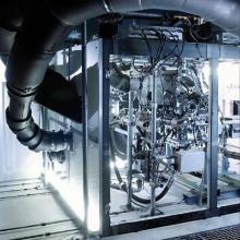 Dieses Bild zeigt IVK Motorenprüfstand